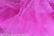 Bubblegum Pink Tulle Nett 1 way stretch 1m X 145cm Dance Costume Fabric