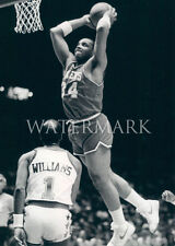 Charles Barkley Rookie Monster Dunk 8x10 Photo Philadelphia Sixers 76ers Basketb