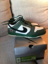 Original Heineken Nike SB Dunks Skateboard shoes No Reserve Rare 9.5 with box