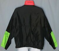 Columbia Men's Vintage Jacket Size L 3 in 1 Radial Sleeve  Black Green Neon