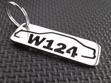 W124 schlüsselanhänger COUPE CABRIO DIESEL AMG 500 E D C124 BRABUS TURBO DIESEL