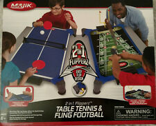 MAJIK 2-in-1 Flipperz TABLE TENNIS (Ping Pong) & FLING FOOTBALL - NEW IN BOX!