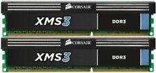Corsair 16GB XMS3 2x 8GB DDR3 SDRAM 1600MHz 240-Pin 16 Dual Channel Kit DDR3 ...