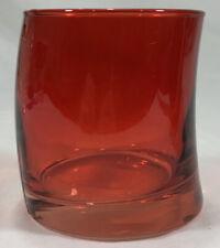 6-Piece Set of Red 10oz. Leonardo WH Becher Swing Glasses