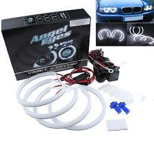 Xenon White Cotton COB Angel Eye Halo Light LED SMD For BMW E46 E39 E38 E36