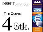 Braun Original Oral B TRI Zone Bürsten 4er Pack