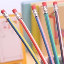 5pcs 30cm Soft Flexible Bendy Pencils Magic Bend Kids School Fun Equipment