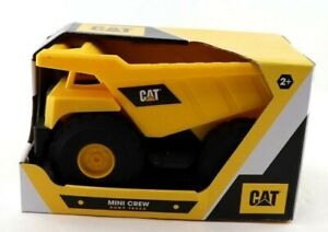 "Caterpillar CAT 7"" Mini Crew Dump Truck Construction Vehicle New"