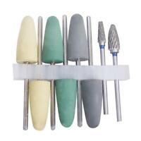 8 Pcs Dental Resin Base Acrylic Polishing Burs Drill Polisher Rotary Tool Set