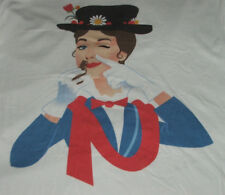 Julie Andrews T Shirt L Mary Poppins Drugs New Unused