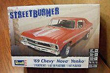 REVELL '69 CHEVY NOVA YENKO MODEL KIT 1/25 SCALE