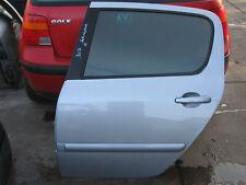 Peugeot 307 Schrägheck Tür hinten links FAHRERSEITE Graumet. Silber  Bj.2005(16)