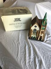 Dept 56 Heritage village collection ALL SAINTS CORNER CHURCH  # 55425