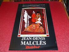 COLL.J.LE BOURHIS BALLET DANSE AFFICHE JEAN DENIS MALCLES (Décors Costumes) 1990