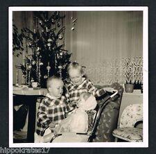 PHOTO vintage FOTO, Weihnacht christmas family famille Noel Navidad familia 46d