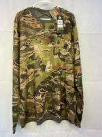 Under Armour Mid Season Reversible Wool Base Crew Shirt Forest 1297423-940 2XL
