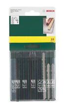 Bosch 10x Assortito Baionetta Seghetto Lame Da Taglio Legno/Metallo/Plastica
