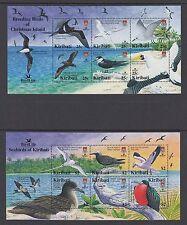 Kiribati:2005 avifauna minsheets internazionali (2) sgms741 never-hinged MINT