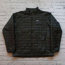 Patagonia Nano Puff Sweater Jacket Mens Size XXL Black