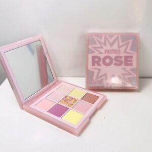 HUDA BEAUTY PASTELS Obsession ROSE Palette 9 shades NIB