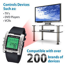 Sharper Image Control Freak Digital Remote Control Watch | TV, DVD,and More