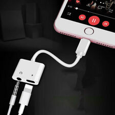 2 in 1 Charger & Headphone Jack Dual Adapter for iPhone 7 8 X XR XS