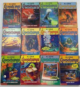 Vintage Goosebumps Bulk Bundle 1990's 3,13,14,15,21,27,34,36,39,42,44,49