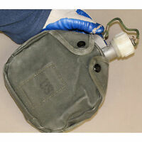 Arctic Stainless Steel Canteen w/ Canvas Cover Military(Rating -50F)