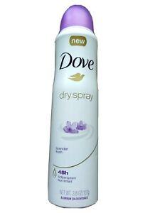 Dove Lavender Fresh 48h Antiperspirant Deodorant Dry Spray Non-Irritant 3.8oz