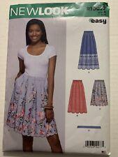 New Look Simplicity Sewing Pattern R10077 / N6605 Misses Skirt/Belt Sz. 8-20