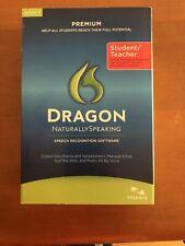 Nuance Dragon NaturallySpeaking Speech Recognition Software-Student/Teacher v11