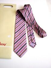 BRIONI Roma LUXURY NEW NEW DIS 32107 SILK HAND MADE IN ITALY GIFT IDEA