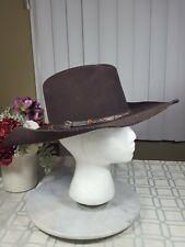 cbe2869bf0c Cavender s 3X Western Cowboy Collection Hat Brown Black Wool Men s Size 6 7  8