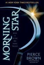 Morning Star The Red Rising Saga Trilogy Series Book 3 by Pierce Brown Hardcover