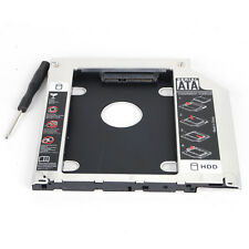 Second SATA HDD SSD Caddy Adapter Tray For Apple MacBook Pro A1278 A1286 A1297