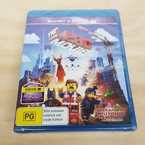 THE LEGO MOVIE (2014) Blu ray Inc Special Features NEW + SEALED (Tracked Post)