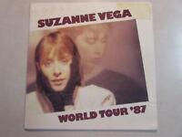 SUZANNE VEGA WORLD TOUR '87 PROGRAM BOOK SOLITUDE STANDING ECLECTIC FOLK ARTIST