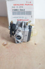 GENUINE KAWASAKI CARBURETOR 15003-2663  * NEW *