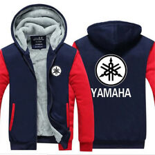 Fashion YAMAHA motorcycle Hoodie Winter Coat Fleece Unisex Thicken Jacket