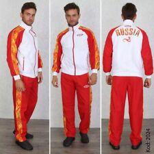 BOSCO SPORT Olympic Team RUSSIA Sport-Trainingsanzug Vancouver 2024 Rot