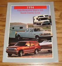 Original 1994 Ford Recreation Vehicle & Trailer Towing Guide Sales Brochure 94