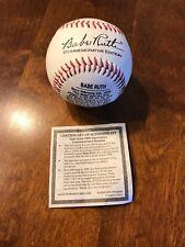 Babe Ruth 100th Anniversary Commemorative Baseball w/ COA