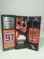 2020 Connor McDavid Tim Hortons Limited Edition NHL Superstar Stick / Locker NEW