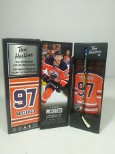 2020 Connor McDavid Tim Hortons Limited Edition NHL Superstar Stick / Locker NEW