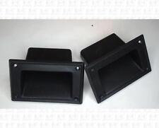 Plastic Angled Recessed Speaker Handles Pair 5.25 X 3.25 Inch