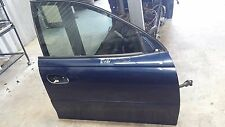 HOLDEN VZ COMMODORE R/HAND FRONT DRIVERS DOOR SHELL PC :718H  BLUE