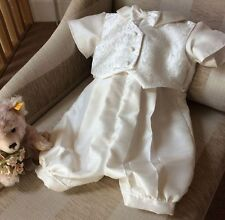 CHRISTENING BOYS BABY OUTFIT GOWN BAPTISM WEDDING SUIT ROMPER /OUTFIT CLOTHES