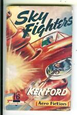 SKY FIGHTERS by Ken Ford, British Curtis air war sci-fi pulp vintage pb