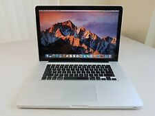 "Apple MacBook Pro A1286 15"" Early 2011 i7-2635QM 2.0GHz 500GB 4GB A1286 Sierra"
