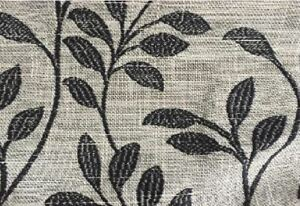 """Caravan Boat Window Curtains Fully lined Ready Made 3"""" Header Tape Leaf Print `"""